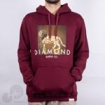 Moletom Diamond Geo Lion Vinho