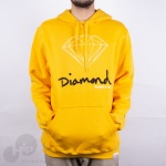 Moletom Diamond Og Sign Amarelo