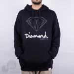 Moletom Diamond Og Sign Preto