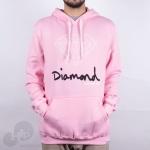 Moletom Diamond Og Sign Rosa