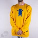Moletom Grizzly Og Bear Amarelo