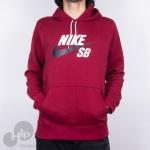 Moletom Nike Aj9733-677 Vinho