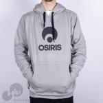 Moletom Osiris Corporate Cinza Claro