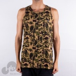 Regata Dc Shoes Combo Print Camuflado Marrom