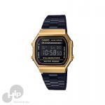 Relógio Casio A168Wegb-1Bdf Preto
