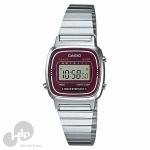 Relógio Casio La670Wa-4Df Prata