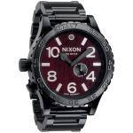 Relógio Nixon Preto Dark Wood