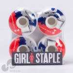 Roda Girl 54Mm Branca