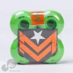 Roda Mini Logo 52Mm C-Cut Verde
