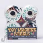 Roda Toy Machine 52Mm Branca