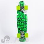 Skate Cruiser Revenge Camuflado Verde