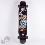 Skate Longboard Boundless Hannya Dancer