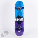 Skate Montado Hondar Hsm-17 Infanto Azul