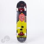 Skate Montado Kronik It Youll Float Preto