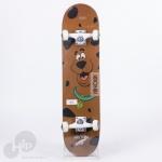 Skate Montado Kronik Scooby Doo Marrom