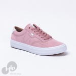 Tênis Mary Jane Crew Suede Rosa