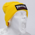 Touca Thrasher Logo Patch Amarela
