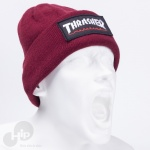 Touca Thrasher Logo Patch Vinho